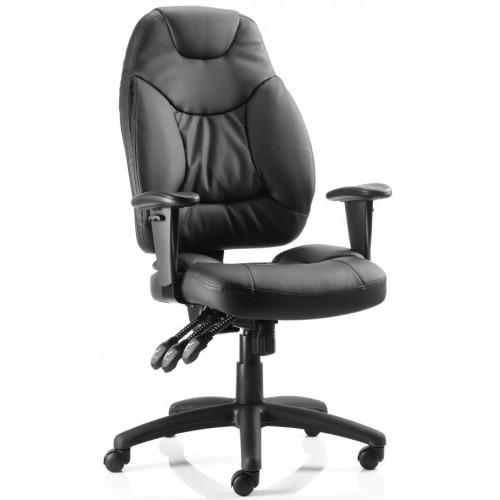 Galaxy Heavy Duty Leather Chair