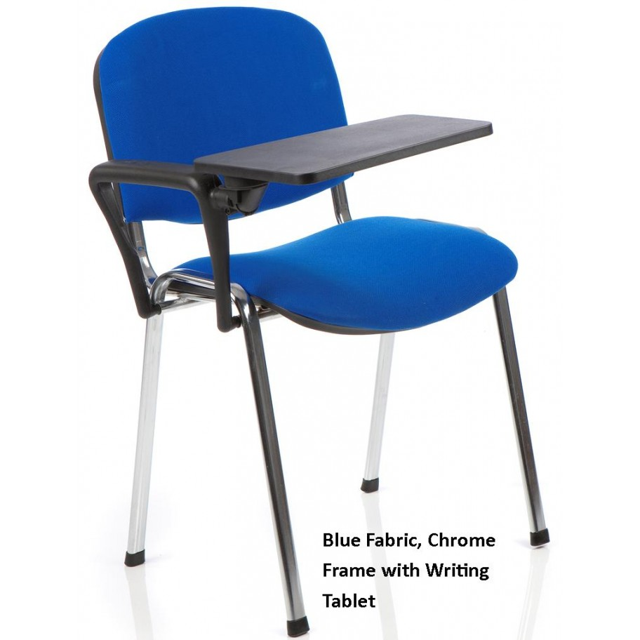 ... Ice Stacking Chairs with Writing Tablet ...  sc 1 st  Atlantis Office & Iso Stacking Chairs with Writing Tablet