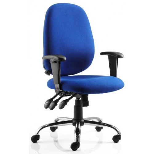 Lisbon Posture Heavy Duty Fabric Chair
