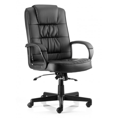 Mossley Managers Leather Office Chair