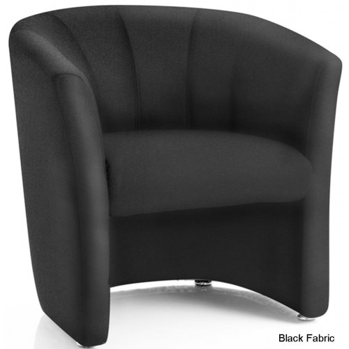 Neo Fabric Single Tub Reception Chair