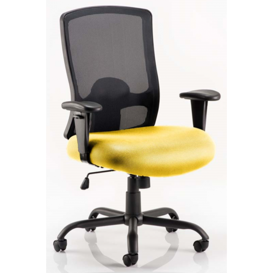 Portland Upholstered Heavy Duty 32 Stone Mesh Chair