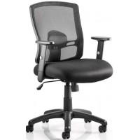Portland Black Mesh Operator Office Chair