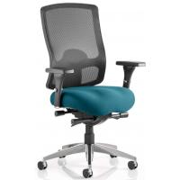 Regent Upholstered Ergonomic Mesh Posture Office Chair