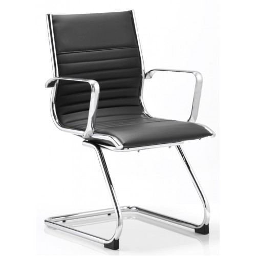 Ritz Leather Cantilever Office Chair