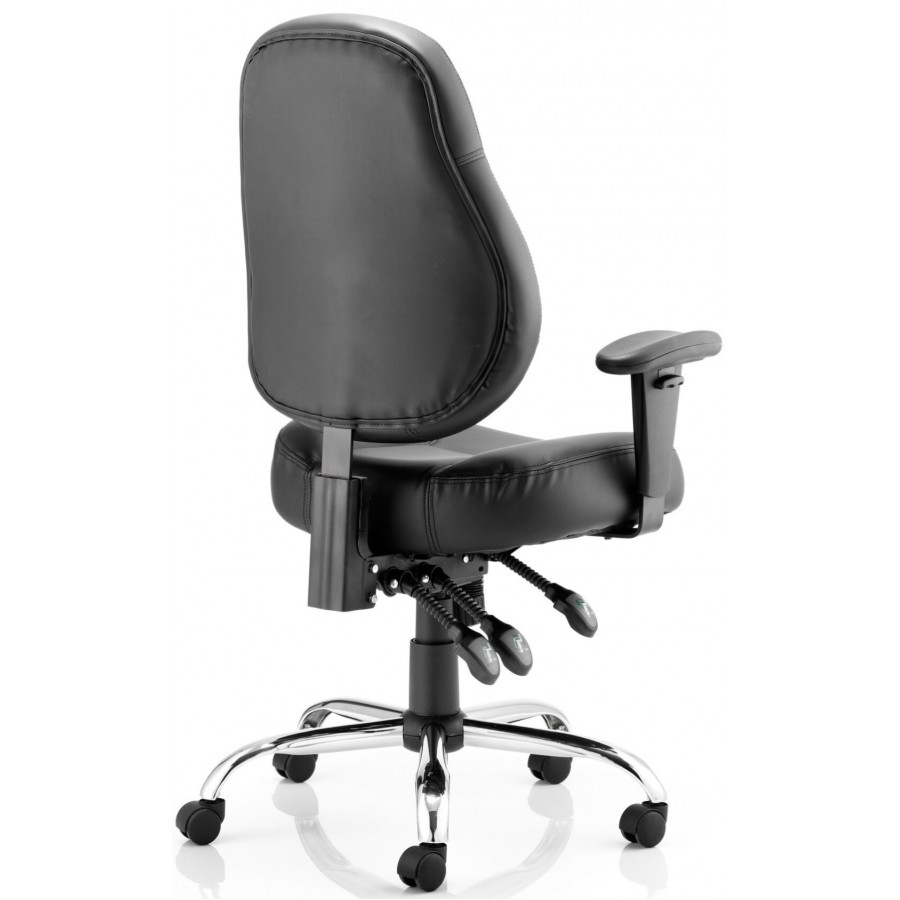 Storm Leather Heavy Duty Task Chair