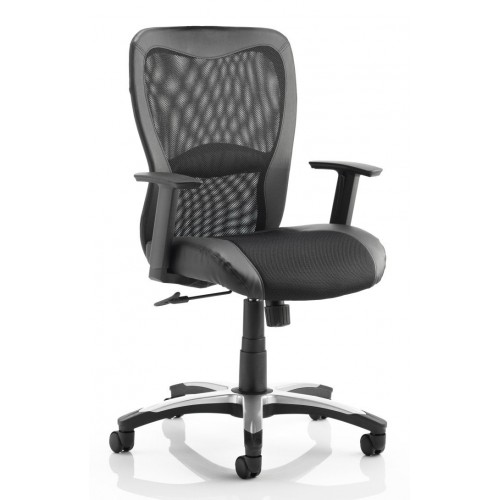 Victor Mesh Leather Executive Chair