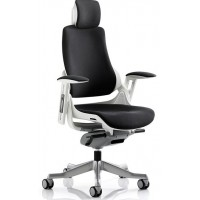 Zouch Black Fabric Ergonomic Office Chair