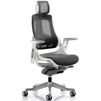 Zouch Black Mesh Ergonomic Office Chair