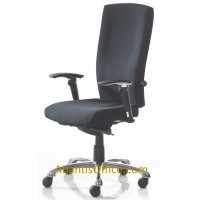 Waverly High Back Fabric Posture Chair - 24 Hour Chair