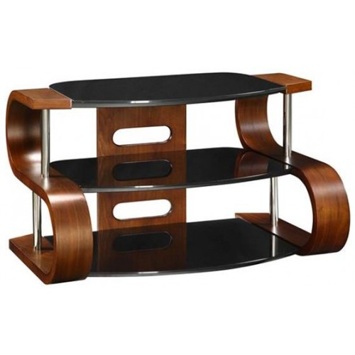Curve 1100mm Wide Wooden TV Stand