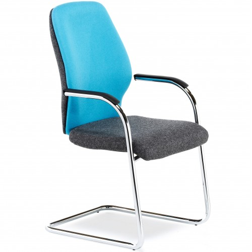 Bounty Upholstered Cantilever Visitor Chair