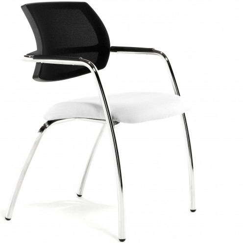 Malta Mesh Back Bespoke 4-Leg Visitor Chair