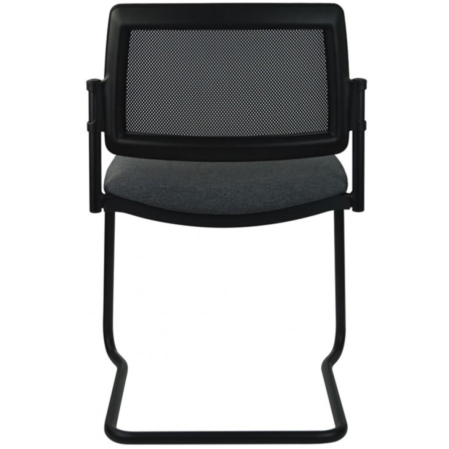 Mars Mesh Black Cantilever Visitor Chair