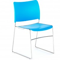 Twirl Plastic Stacking Chair