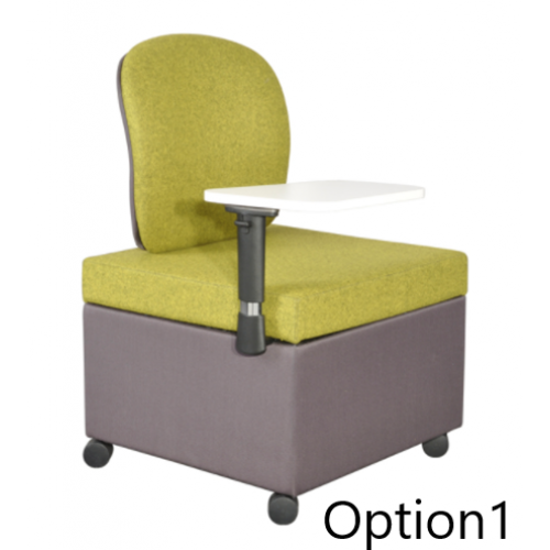 Work-It Chair Unit With Writing Tablet
