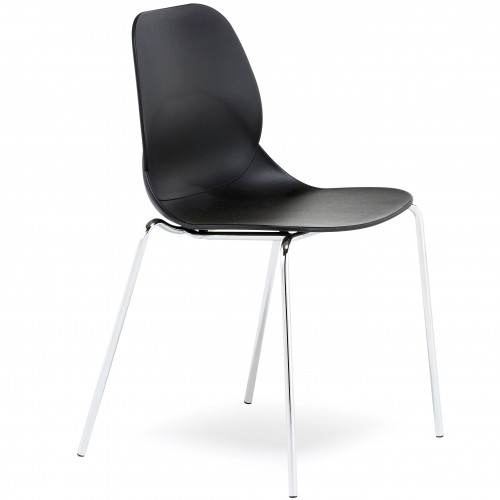 Pop 4 Legged Plastic Bistro Chair