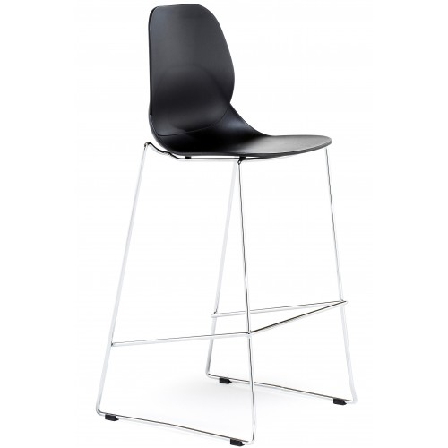 Pop High Stool Plastic Bistro Chair