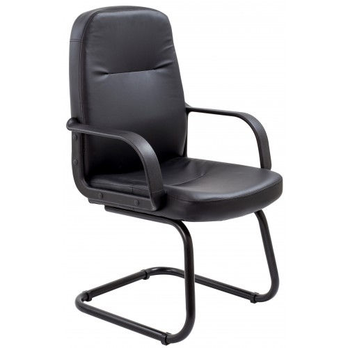Canasta II Leather Visitor Chair