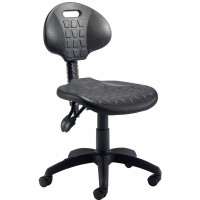 Factory 2 Lever Wipe Clean Operator Chair