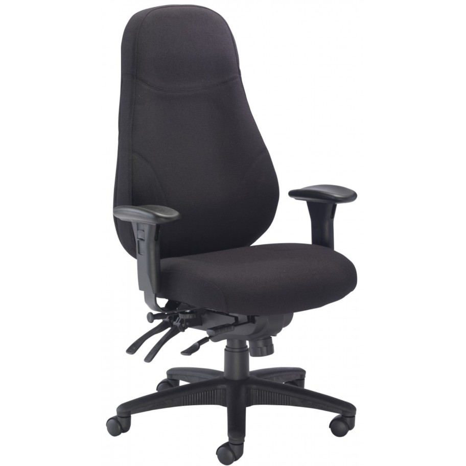 Panther fabric 24hr heavy duty office chair