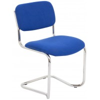 Summit Cantilever Stacking Fabric Visitor Chair