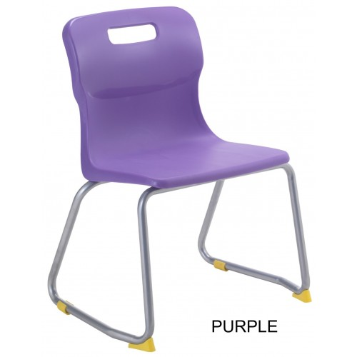 Titan AGES 9-13 Skid Frame Classroom Chair