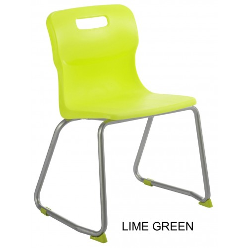 Titan AGES 13 + Skid Frame Classroom Chair