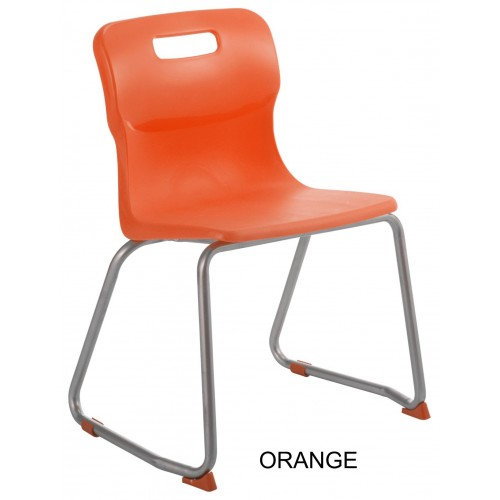Titan AGES 5-7 Skid Frame Classroom Chair