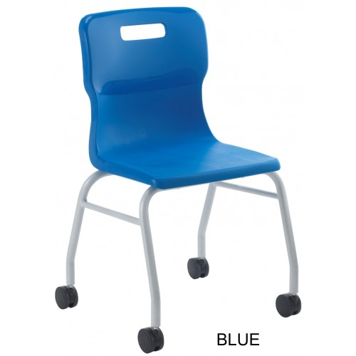 Titan AGES 13+ One Piece Mobile Classroom Chair