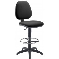 Zoom Fixed Draughtsman Medium Back Chair