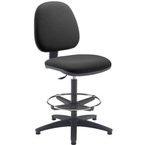 Zoom Adjutable Draughtsman Medium Back Chair