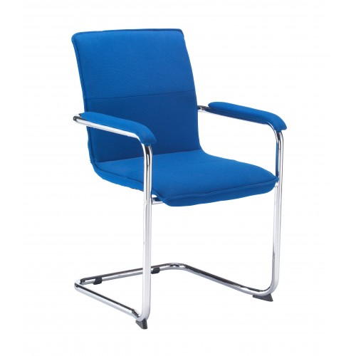 Pavia Executive Fabric Visitor Chairs - PRICE FOR 2 CHAIRS