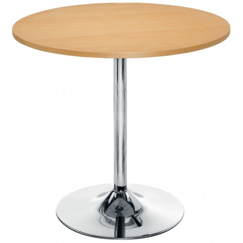 Ellipse Trumpet Leg Cafe Table