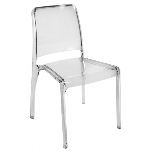 Clarity Translucent Polycarbonate Chair