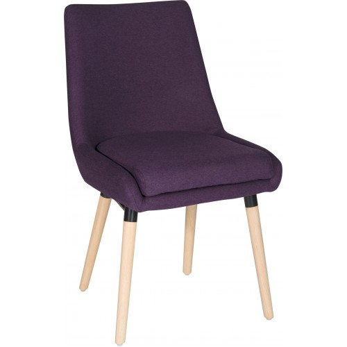 Lexdan 4 Legged Reception Chairs - PRICE FOR 2 CHAIRS