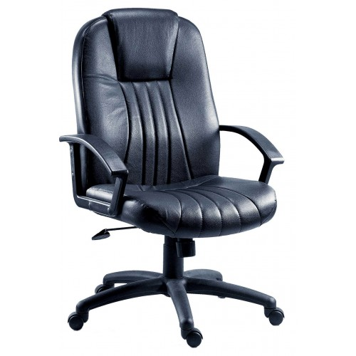 City Leather Faced Executive Office Chair