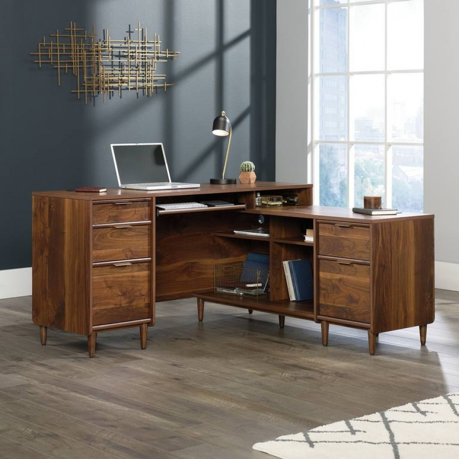 Clifton Place L-Shaped Home Office Desk