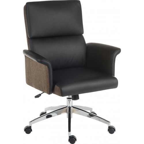 Elegance Medium Back Executive Leather Office Chair