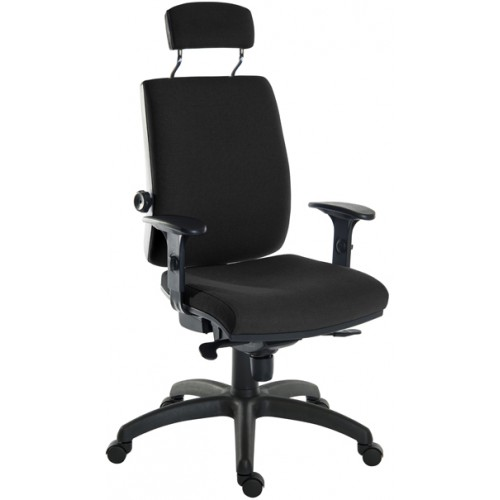 Ergo Plus Heavy Duty Fabric Posture Office Chair