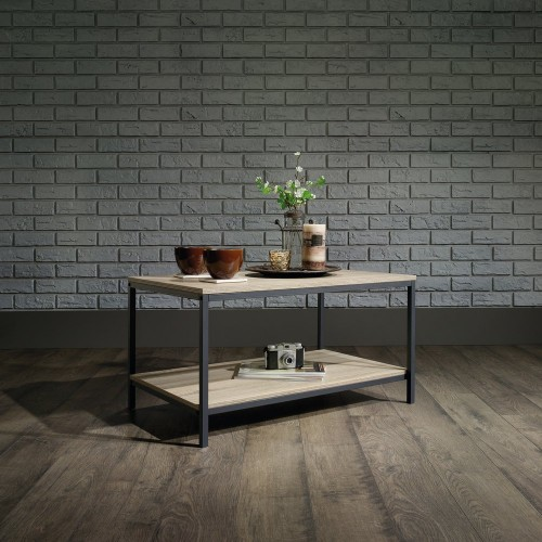 Industrial Style Oak Coffee Table