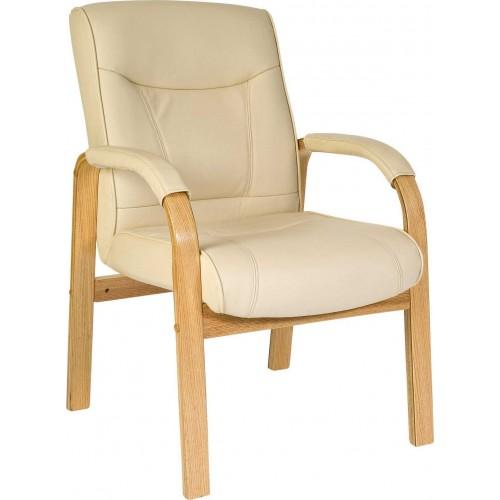 Knightsbridge Wood Frame Visitor Chair