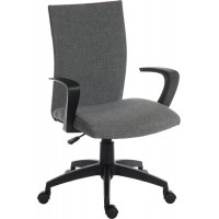 Work Fabric Operator Chair - Grey or Black