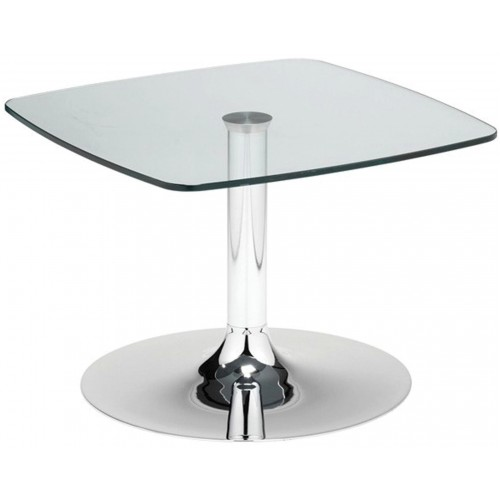 Chamfer Glass Top Coffee Table