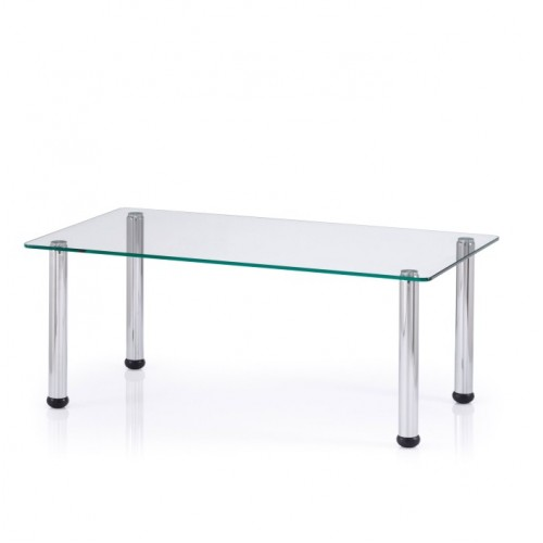 Solace Rectangular Clear Coffee Table