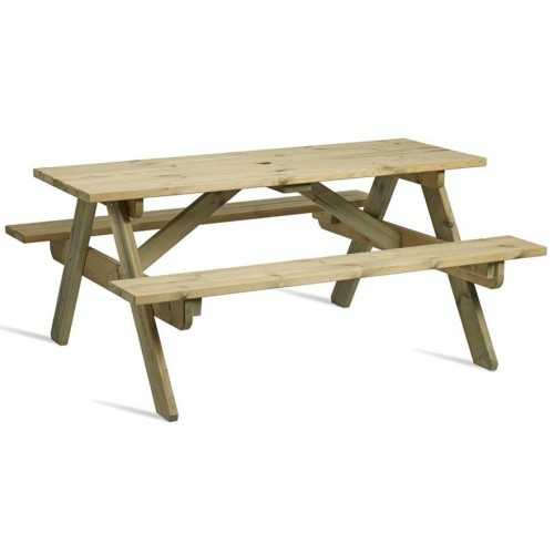 Hereford 6 Seater Picnic Bench