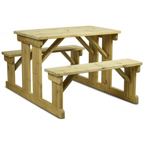 Newport 6 Seater Picnic Bench