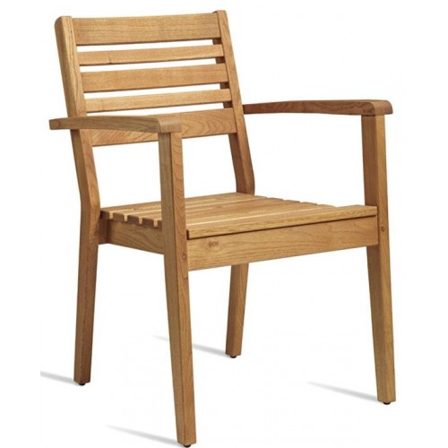 More Robina Wood Arm Chair