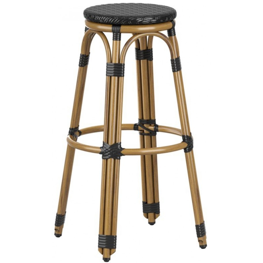 Time Outdoor Cafe Bistro Arm Chair Bar Stool
