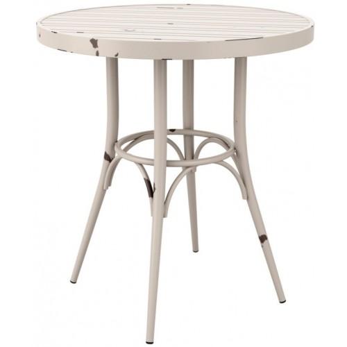 Vibe Retro Style Round Cafe Table